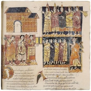 Concilio de Toledo Codice Albendense Biblioteca Real Monasterio de El Escorial