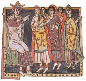 Concilio de Toledo-Representación medieval