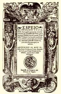 Foto_Espejo_Principes_y_Caballeros_El_Caballero_del_Febo 1555