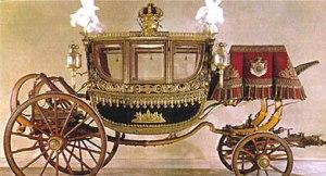 Coche corona real
