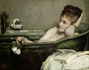 Alfred Stevens, Le bain, vers 1867
