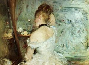 Berthe_Morisot_WomanToilette1875