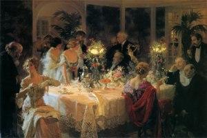 Dinner Party Jules Alexandre Grun