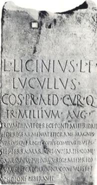 Lúculo_inscripción_funeraria