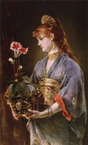 Stevens_Alfred_Reverie_-_Portrait_of_a_Woman