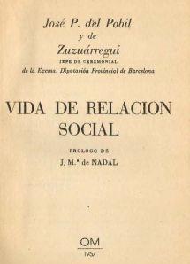 Vida de relación social Portada