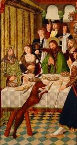 Maestro de los Balbases. Santo Tomás en la India. 1495