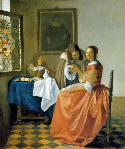Girl-with-a-Wineglass-Vermeer