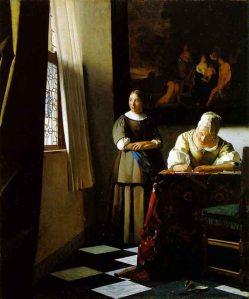 vermeer-de-delft_mujer-escribiendo-una-carta-y-su-sirvienta_ca-1670_dublin_-national-gallery-of-ireland