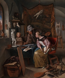 Jan_Steen_(Dutch)_-_The_Drawing_Lesson_-_Google_Art_Project