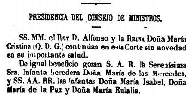 El recorte que da origen al articulo 19101880
