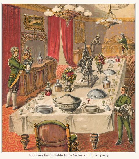 Victorian Dinner Party