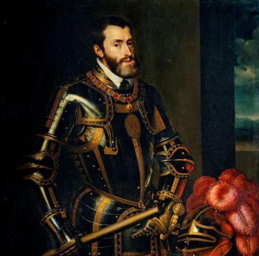 Carlos V Tiziano