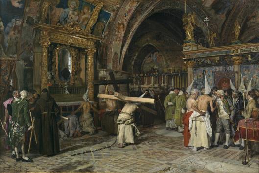 Penitentes_Museo del Prado Jiménez Aranda