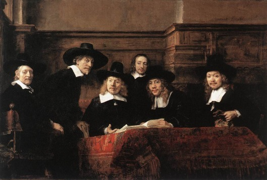 Rembrandt Syndics of the Amsterdam Cloth Workers Guild