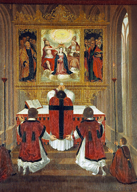 CATHOLICVS-La-Santa-Misa-en-el-Arte-CCXX-The-Holy-Mass-in-Art-CCXX