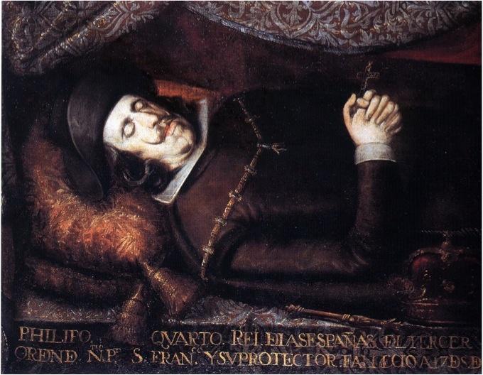 Felipe IV Muerto Real Academia de la Historia Anónimo