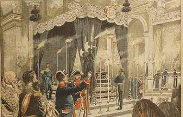 Capilla Ardiente Isabel II