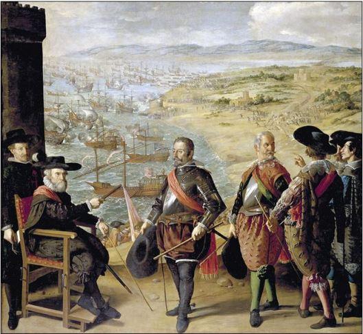 Defensa de Cádiz contra los ingleses zurbarán