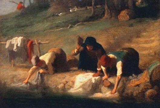 Las lavanderas Millet