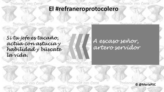 protocolo refranes