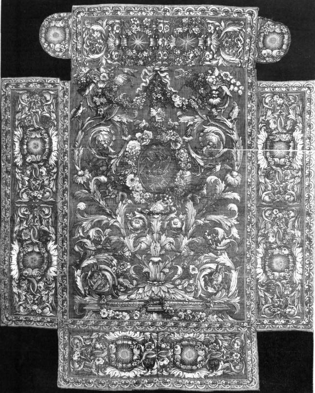 Protocolo Boda Alfonso XII cubrecama